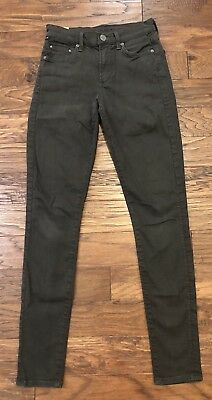 Citizens of Humanity Jeans Size 25 Rocket High Rise Skinny Dark Charcoal Gray