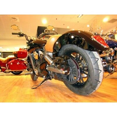 Indian Scout -Support + Eclairage De Plaque-22800