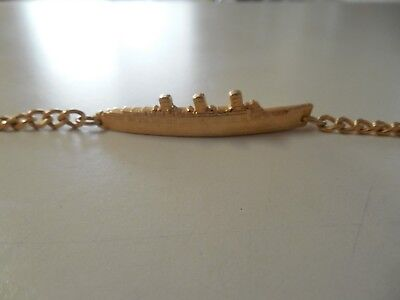 Queen Mary Cruise Ship Bracelet