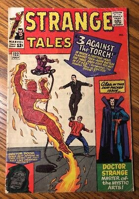 Strange Tales #122.  Solid Complete And Unrestored.