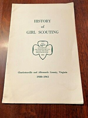 Girl Scouts Charlottesville Virginia History of Girl Scouting 1920-1961
