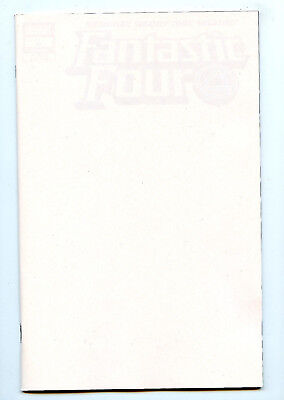 Fantastic Four #1/646 (2018) Marvel NM/NM- Blank Variant