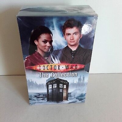 Doctor Who The Collection 4 book box set