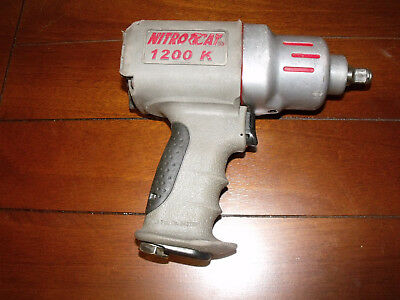 NitroCat Composite Pnuematic Air IMPACT GUN Air Wrench 1200k AirCat