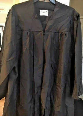Josten Black Graduation Gown , Choir,robe ,clergy Matte And Other Color Availabl