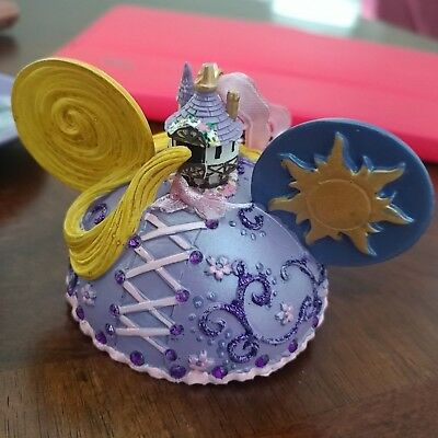 Disney Parks Rapunzel Mickey Ear Hat Ornament Tangled. New with tags