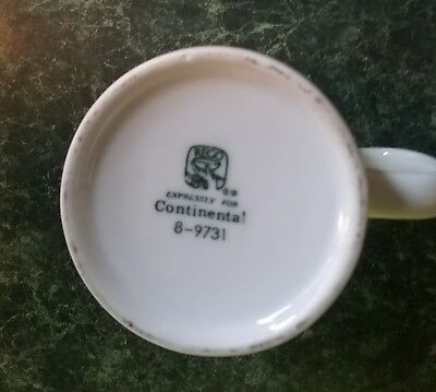 Continental airlines collectibles