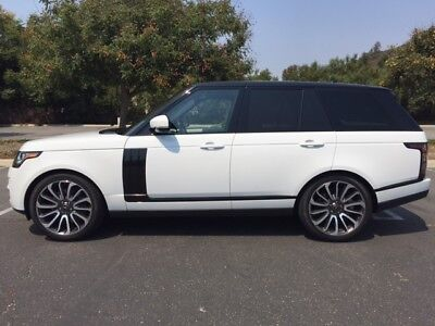 2016 Land Rover Range Rover Supercharged 2016 Range Rover Supercharged