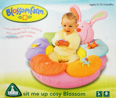 Baby Infant ELC Blossom Sit me up Cosy Cushion Soft Floor Seat BRAND NEW