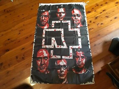 Rammstein heavy metal Man Cave Work Shop Garage Shed Bar Germany Flag banner
