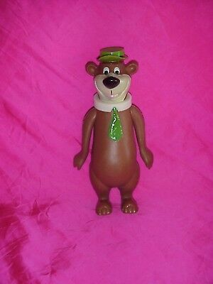 "Vintage 1970 Dakin Yogi Bear 8"" Poseable Plastic Figure Doll Toy Hanna Barbera"