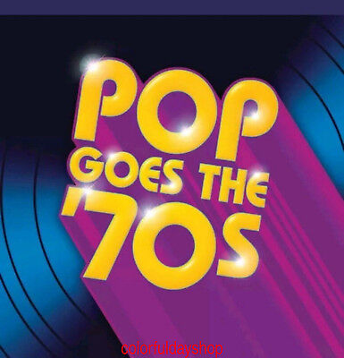 "Various Artists ""Pop Goes the '70s"" 10 CD Box Set Time Life Music Discs+ GIFT"