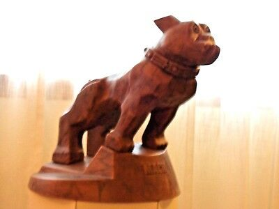 """Rare Vintage 17"""" Mack Truck  Bulldog Display Piece By Old King Cole Display Co"""
