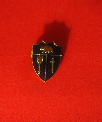 California Cadet Corps Ccc  Dui Hat Pin Essayons Clutch Back