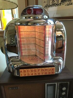 Great Crosley CR-9 Select-o-Matic Collector's Edition AM/FM Radio Jukebox Works