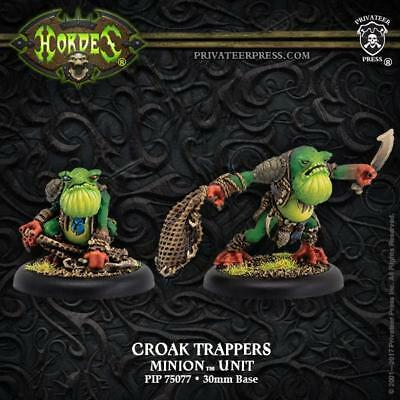 Privateer Hordes Minions Croak Trappers Pack MINT