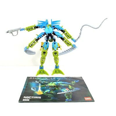 Lego Bionicle 8935 Nocturn Warrior Rare Green Whip 100 Complete