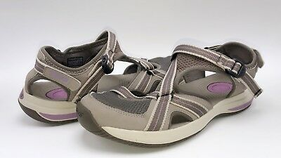 6988bc17a081 TEVA Women s Size US 10 EWASO 1000271 Gray Purple WATER SPORT Shoes Sandals