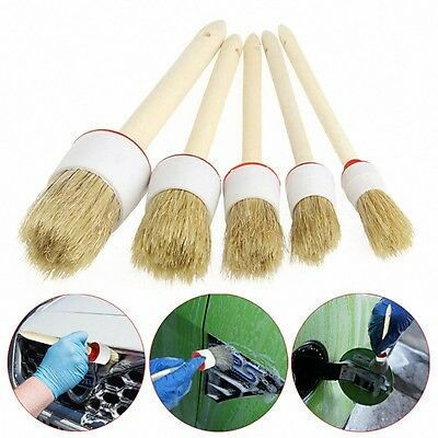 Car Cleaner Brush Set Auto Interior Detailing Cleaning Kit For Dashboard & Wheel