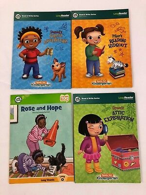 Leap Frog Read and Write Books Kindergarten Interactive Bonus Book 4 Tag Readers