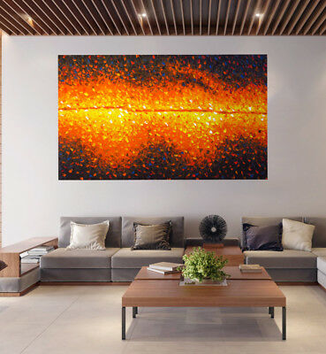 Art Paintings Original bush fire dreaming modern by Jane Crawford aboriginal