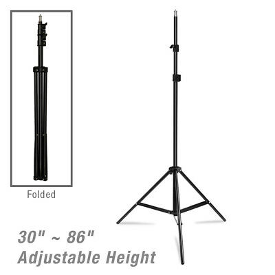 Lusana Studio 7 Foot Light Aluminum Stand Tripod for Photography Photo Video