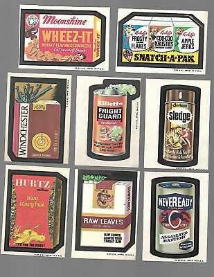1973 Wacky Packages 3rd Series 3 Near Complete Set 27/33  t/b