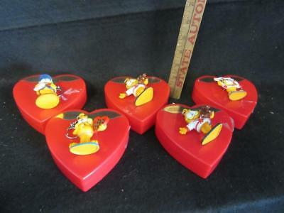 Garfield & Russell Stover's Candy Cases & Key Rings 10 Pc Lot