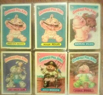 Garbage Pail Kids Original Series 2-4 (1986)  18 card lot Good Condition L@@K!!!