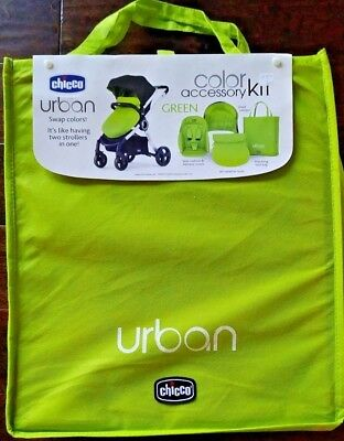 Chicco Urban Stroller Accessory Kit Green
