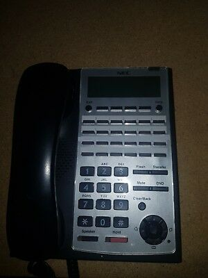 NEC SL1100 IP4WW-24TXH-B-TEL (BK) Handset (Refurbished)