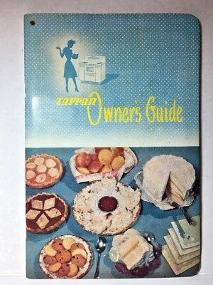 1951 Tappan Range Owner's Guide Oven Manual Canning Stove Broiler Baking