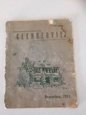 Toorak Teachers College- Glenbervie 1951 Magazine