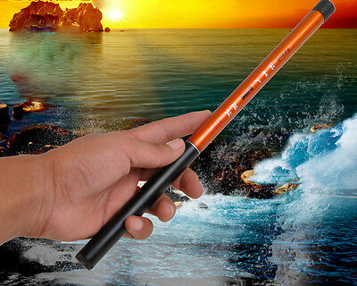 2.1M Portable Super Strong Carbon Telescopic Spinning Pole Sea Fishing Rods ^*