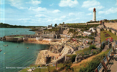 England - Plymouth  -  Smeaton's Tower, The Hoe and Sound