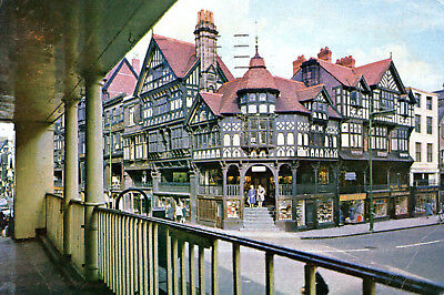 England - Chester  -  The Cross in the city centre  -  1970