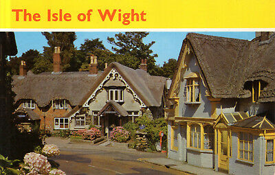 England - Isle of Wight  -  Shanklin - The Old Village  -  Old Houses  - ca.1975