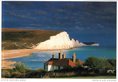 England - East Sussex  -  The Seven Sisters - Part of the South Downs  - ca.1995