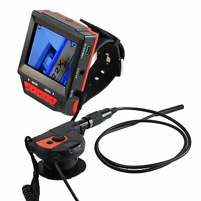 Industrial Endoscope Borescope Watch Type Video Inspection Camera 180° Rotation