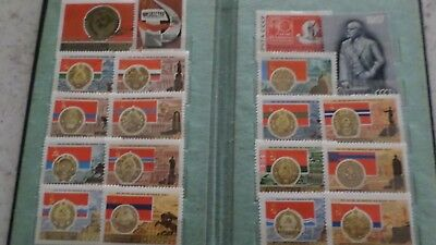 stamps collection Soviet Union CCCP