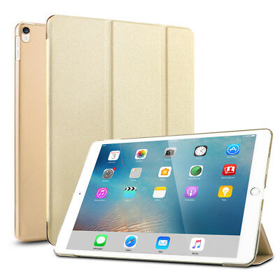 """Gold Ultra Slim Magnetic Leather Smart Case Cover Stand for iPad Pro 9.7"""" 2016"""