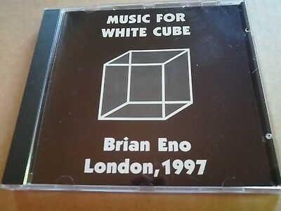 BRiAN ENO-MUSIC FOR WHITE CUBE RARE CD NEW/ UNPLAYED