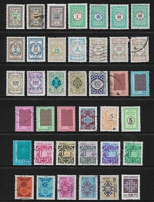 TURKEY mixed collection, 1968-1998 Official stamps