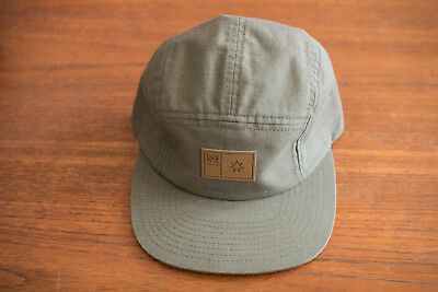 b7ad0cd0da6 Dc Shoe Company Green Hat Cap 5 Panel Skateboarding Adjustable One Size