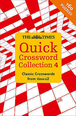 Times Quick Crossword Collection 4, Times2, The Times Mind Games, New Book