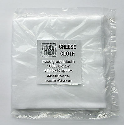CHEESE CLOTH, Food grade 100% Cotton muslin