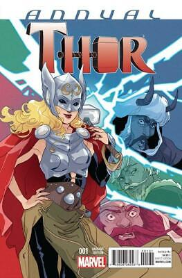 Thor Annual #1 (Vol 4) Variant by Marguerite Sauvage