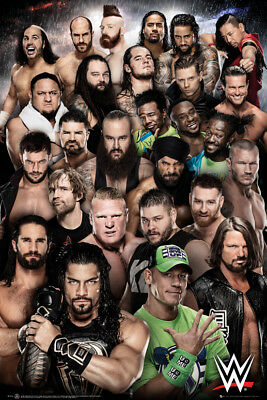 WWE Superstars 2018 Maxi Poster Print 61x91.5cm | 24x36 inches Smackdown print