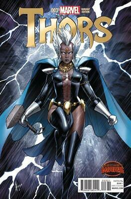 Thors #3 1:25 Variant Cover by Dale Keown