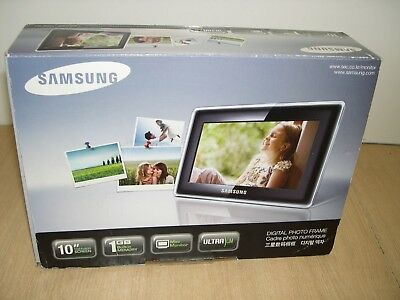 Samsung Digital Picture Frame 10 Spf 107h Monitor Excellent
